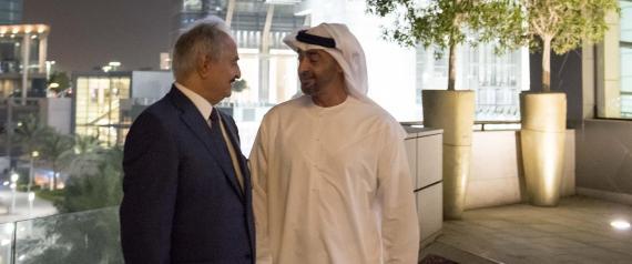 خليفة حفتر يزور الإمارات ويلتقي محمد بن زايد في أبو ظبي