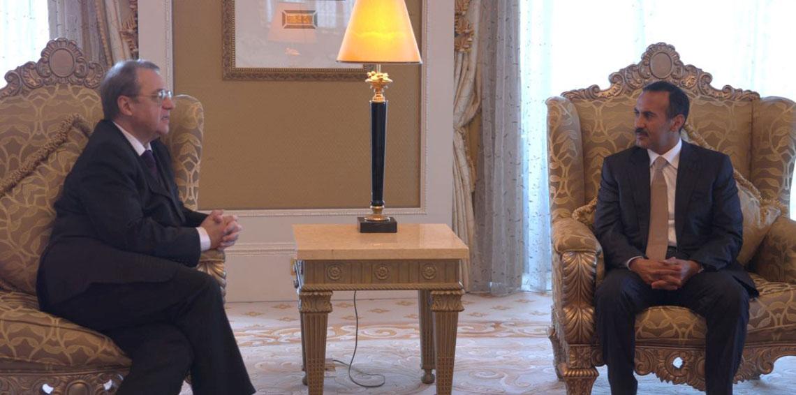 مبعوث الرئيس الروسي يلتقي أحمد صالح في أبوظبي