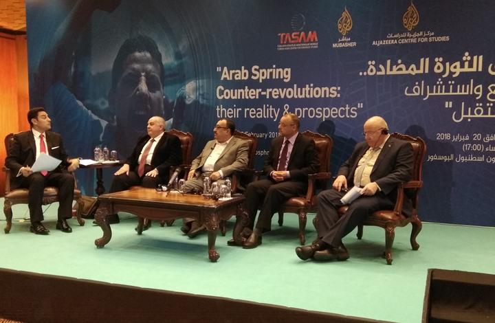 خبراء من دول الربيع العربي يهاجمون أبوظبي والرياض لرعايتهم