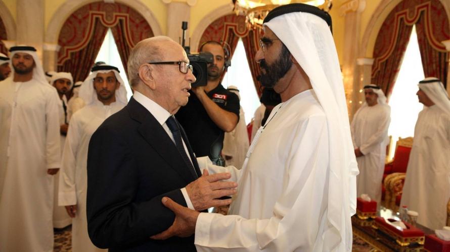 العلاقات الإماراتيةالتونسية تنجرف نحو توتر جديد