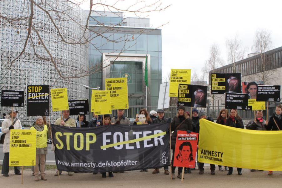 خيمة حقوقية بجنيف للتعريف بسجناء الرأي في الإمارات و السعودية