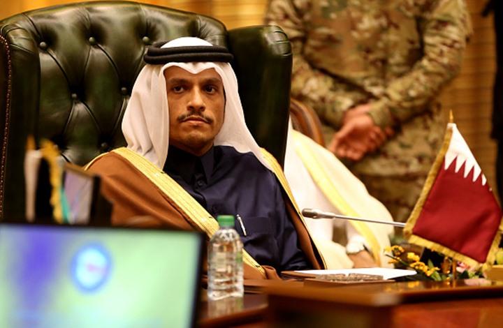 وزير الخارجية القطري ينفي وجود أي محادثات مع الإمارات ويرد على تصريحات قرقاش