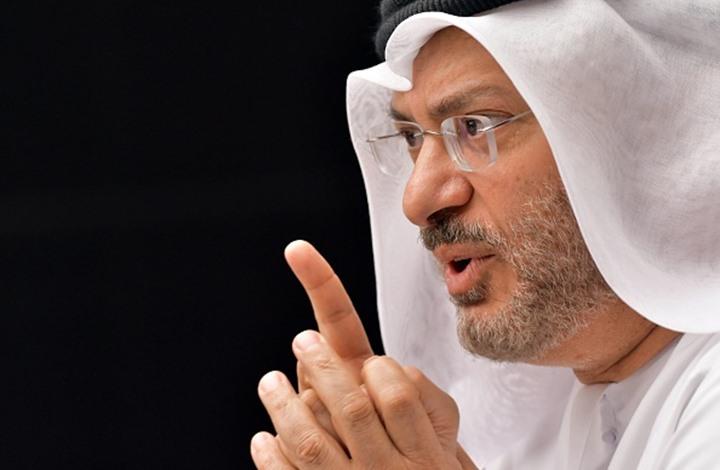 قرقاش ينتقد قطر ويصرح: الأزمة الخليجية تخطو نصف خطوة للأمام وخطوتين للوراء