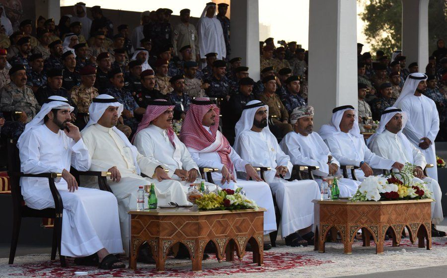 لقاء لوزراء داخلية الإمارات وعمان والبحرين في دبي على هامش اختتام