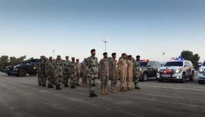 انطلاق تدريب أمن الخليج العربي في الإمارات