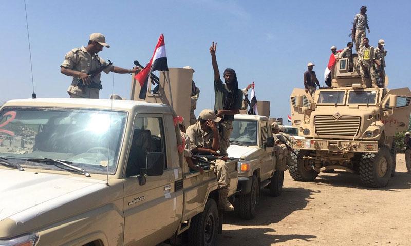 قوات يمنية بدعم من الإمارات تسيطر على مواقع جديدة جنوب غربي الحديدة