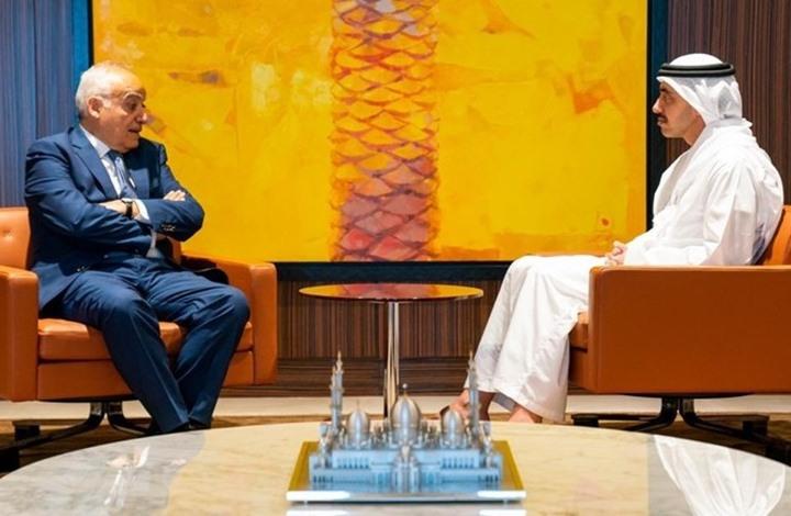 عبدالله بن زايد يبحث مع المبعوث الأممي لليبيا سبل إنهاء الاقتتال الليبي