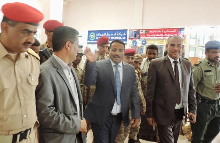 وزير النقل اليمني يهاجم الإمارات ويؤكد أن شرعية هادي خط أحمر