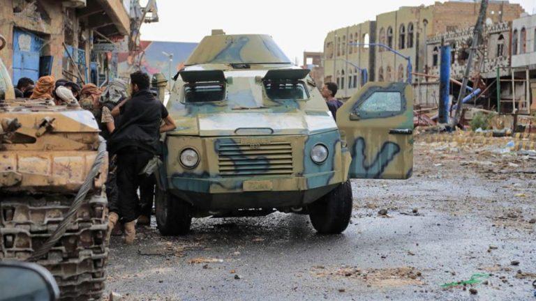 كتائب أبوالعباس المدعومة من أبوظبي تنسحب من مدينة تعز اليمنية