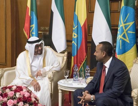 قادما من قطر...رئيس الوزراء الأثيوبي يصل الإمارات ويلتقي محمد بن زايد