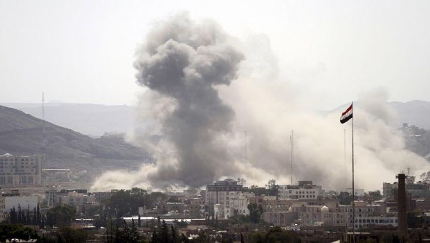 13 قتيلاً بينهم أطفال في قصف للتحالف السعودي الإماراتي على تعز اليمنية