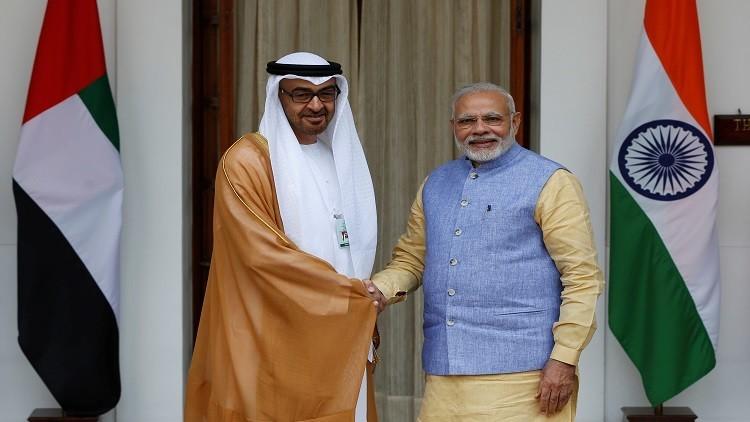 التقاء مصالح الإمارات والهند بمواجهة شراكة باكستان والصين