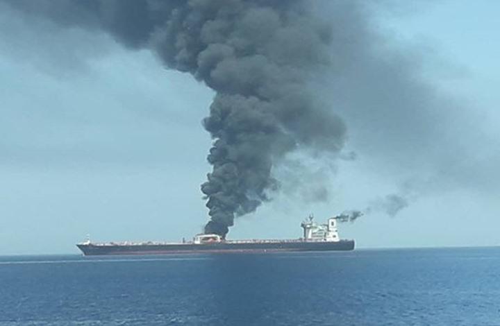 إيكونوميست: تفجير الناقلات في الخليج لعبة غامضة وعنيفة قد تقود للحرب