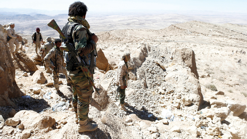 الجيش اليمني مسنوداً بالتحالف العربي يتقدم في جبهات حجة وصعدة والضالع