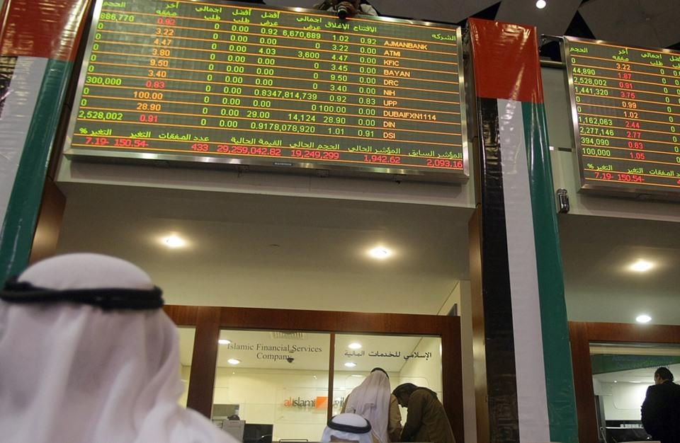 هبوط بورصتي دبي وأبوظبي إثر مخاوف من أزمة مالية جديدة